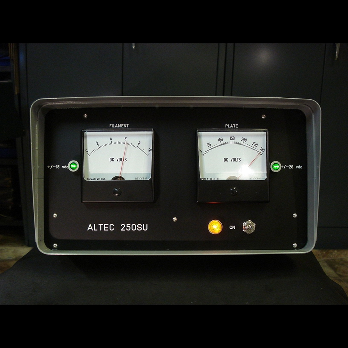 Altec 250SU custom power supply