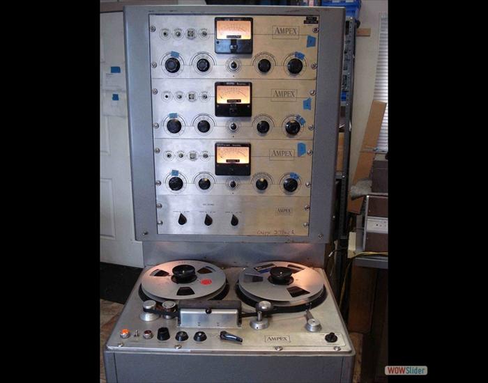 Vintage tape recorder refurbishment