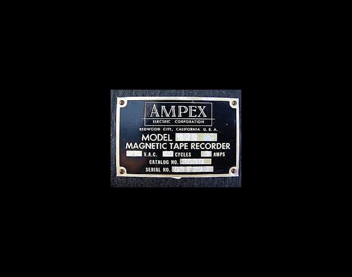 Ampex vintage logo