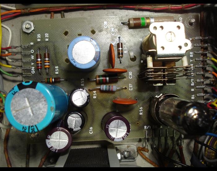 Recap of vintage Ampex 351