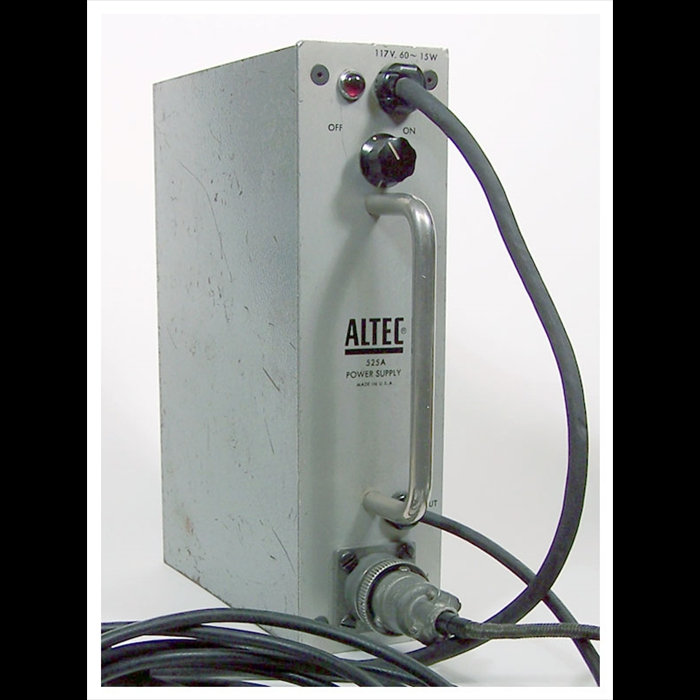 Altec 525A mic power supply
