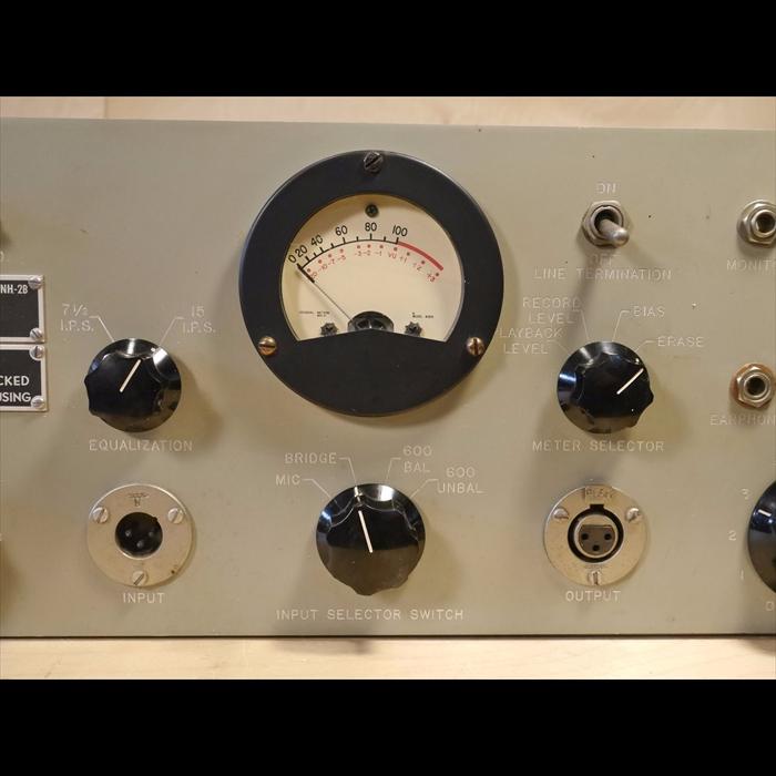 Stanley tape recorder electronics meter