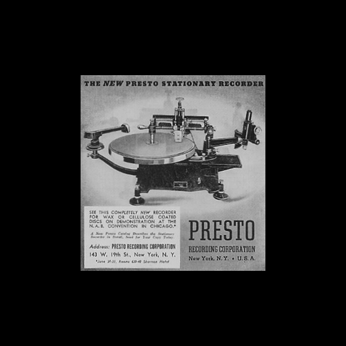 Presto Stationary Recorder