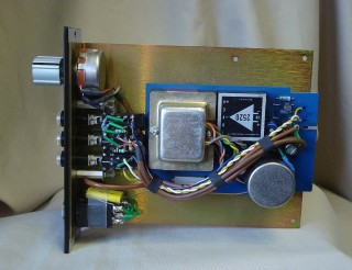 API Mic Pre 500 series from 312 card