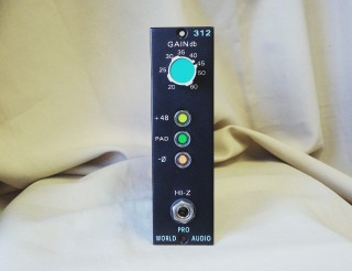 API Mic Pre 500 series from 325 card