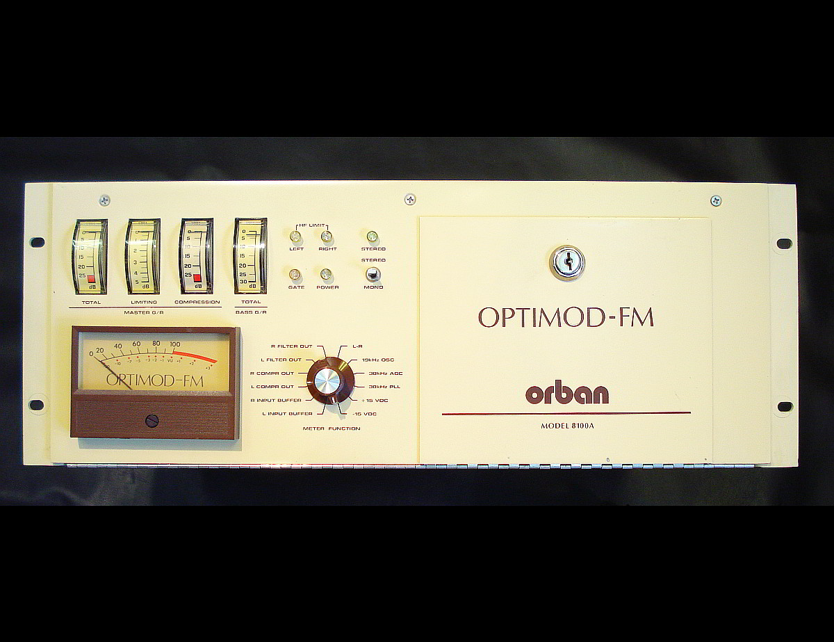 Orban Optimod 8100A 8180A mod