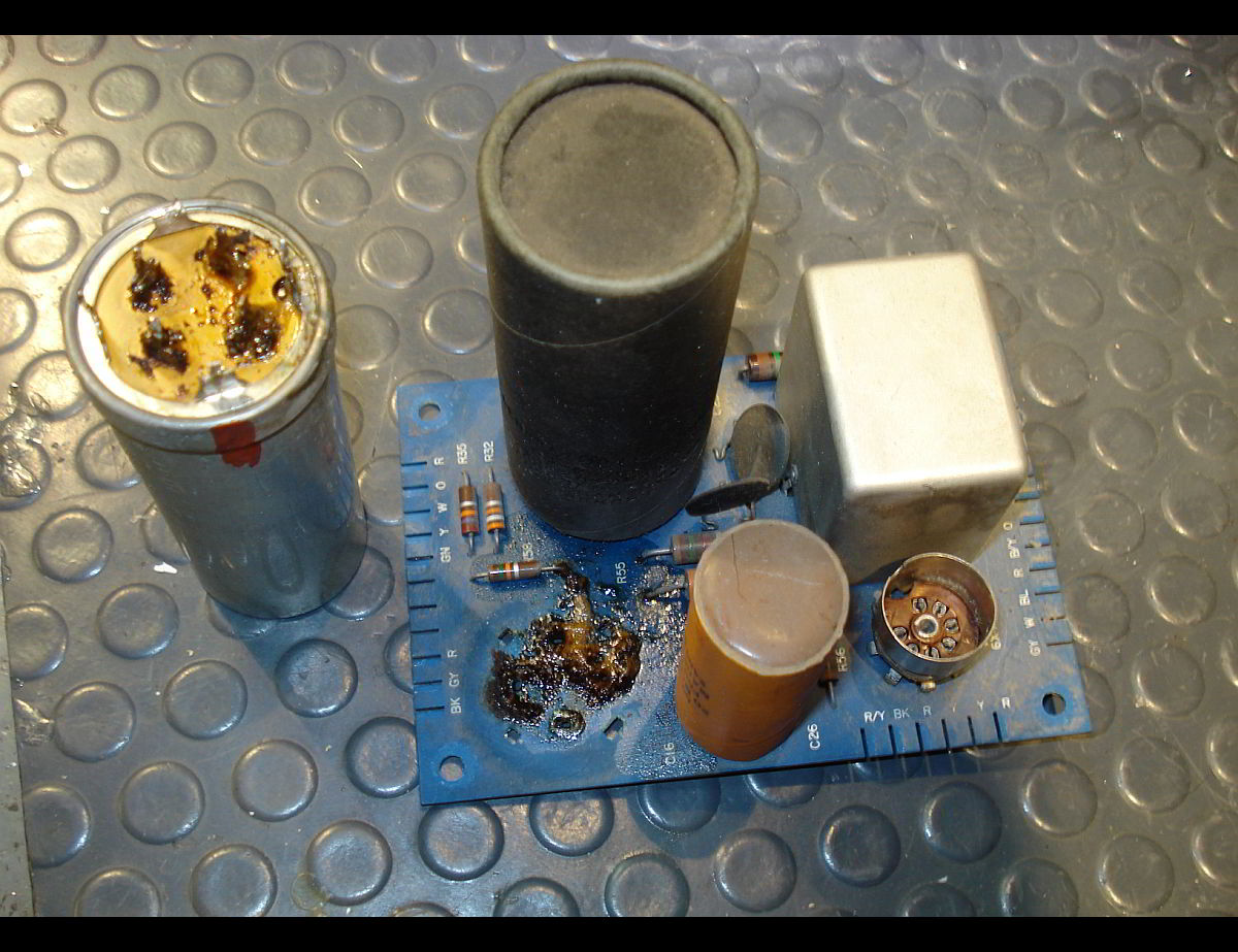 Recapping - Capacitor Replacement